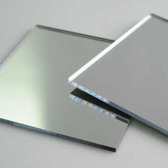 Cut to size mirror